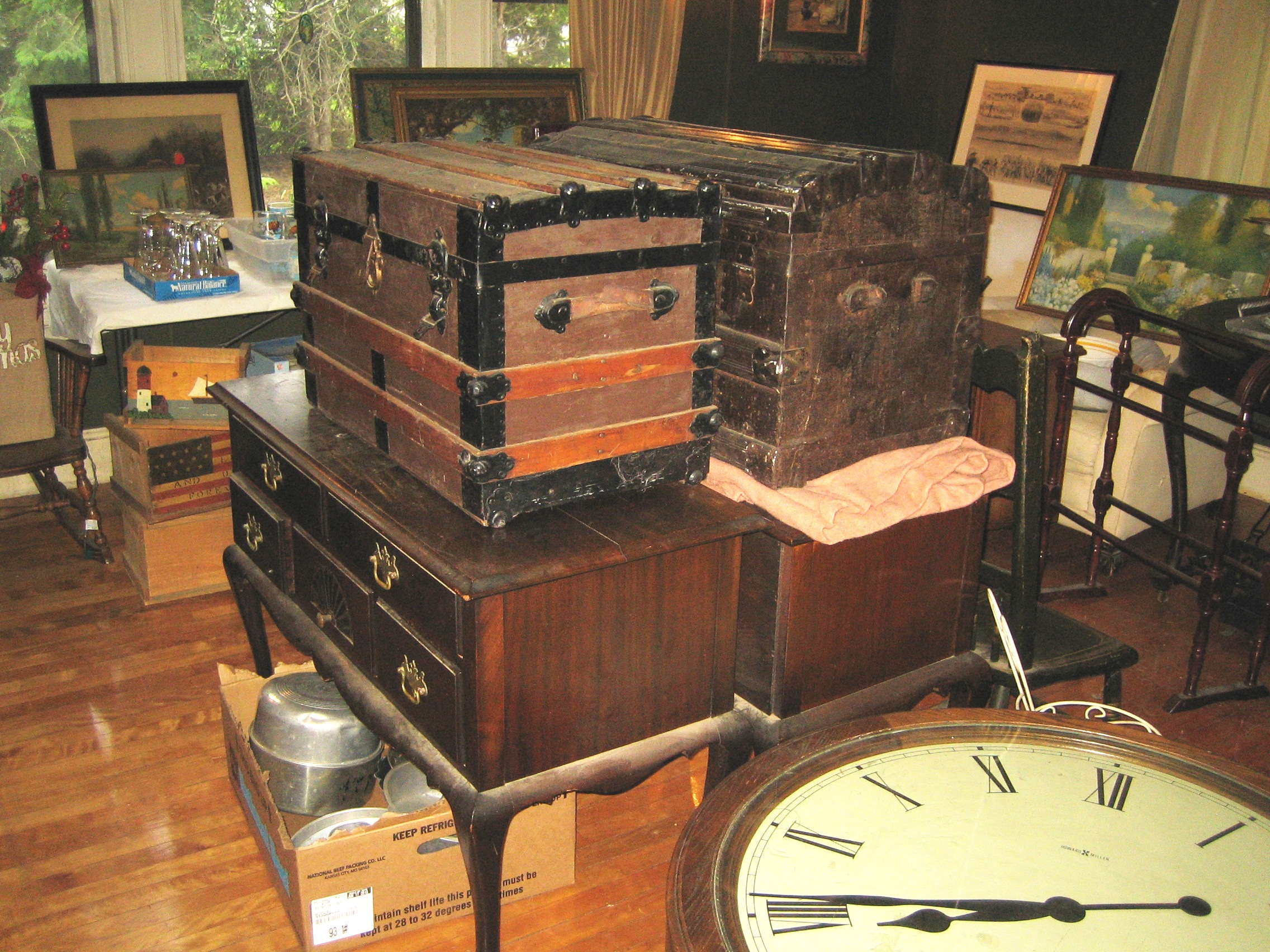 Packed Estate Sale In Holden Ma Antiques Collectibles