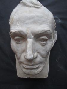 Lincoln life mask