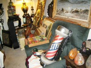 Antiques and collectibles from an estate sale we ran this year