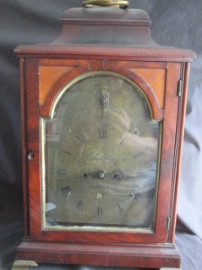 Effingham Embree Period bracket clock brought $13,800 at our August auction