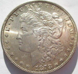 A Morgan Silver dollar that will be sold in our January 28th auction