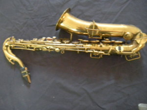 Eddie Money saxaphone from Rock and Roll collection that brought thousands in our September 2011 auction