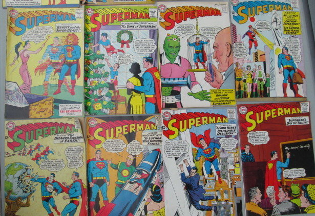 Superman Comic Books - Sold at Auction