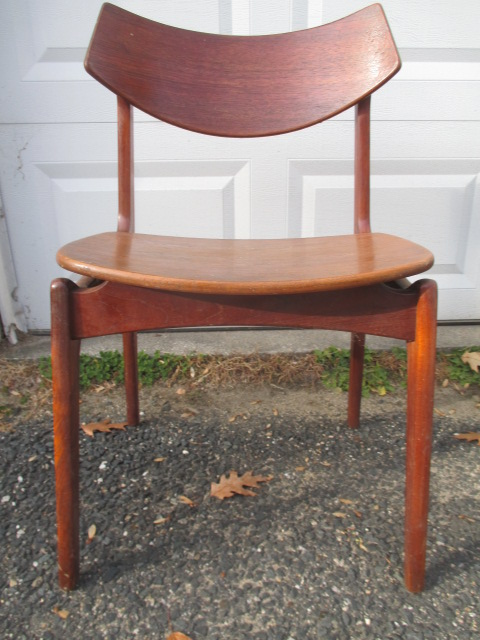 Funder Schmidt Madsen Danish Modern chair - auctioned from Lexington estate