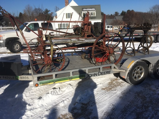 Antique tractor chassis